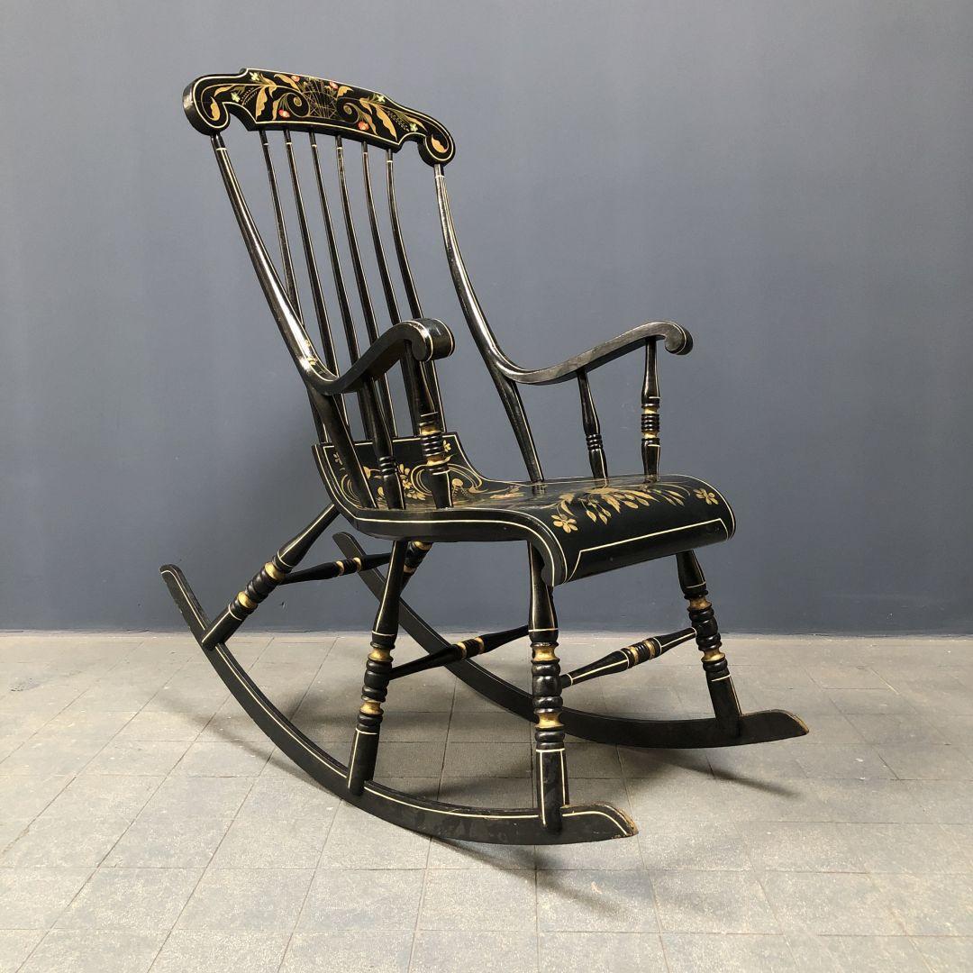 Schitterende Zweedse beschilderde schommelstoel