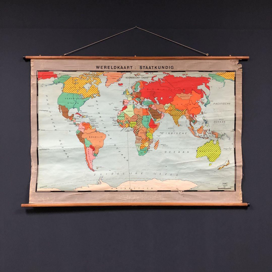 Grote Nederlandse wereldkaart