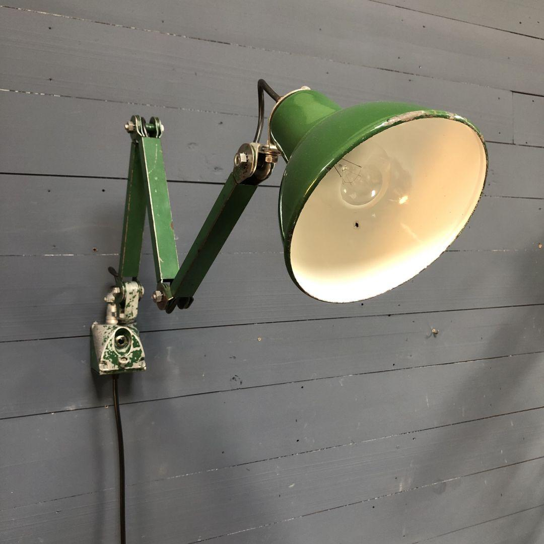 Industriële groene EDL machinelamp