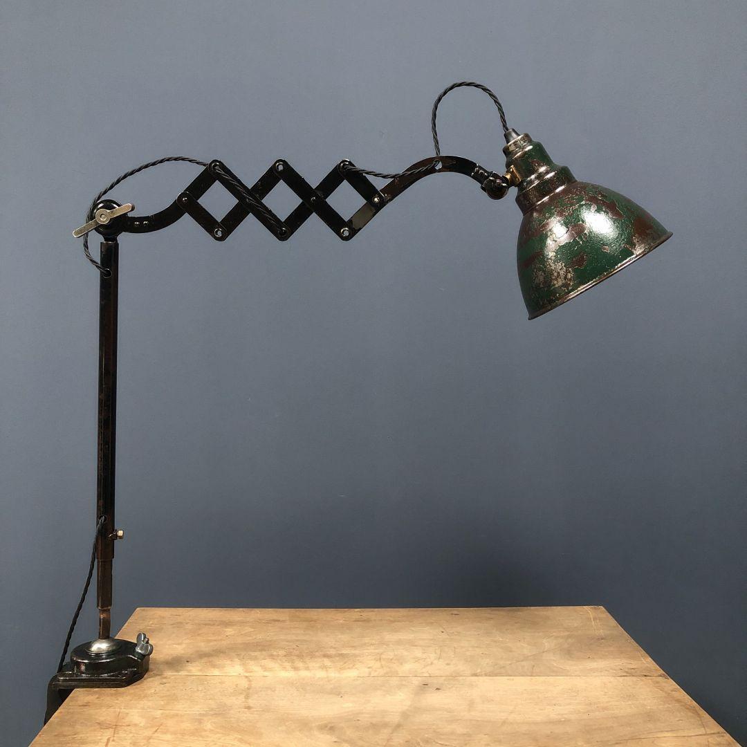 Oude Kandem werkplaats lamp