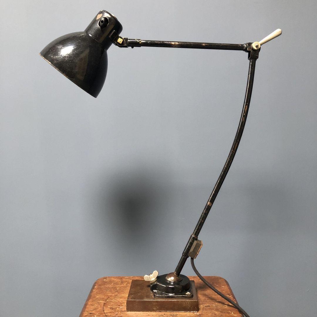 Zwarte Kandem werkplaatslamp
