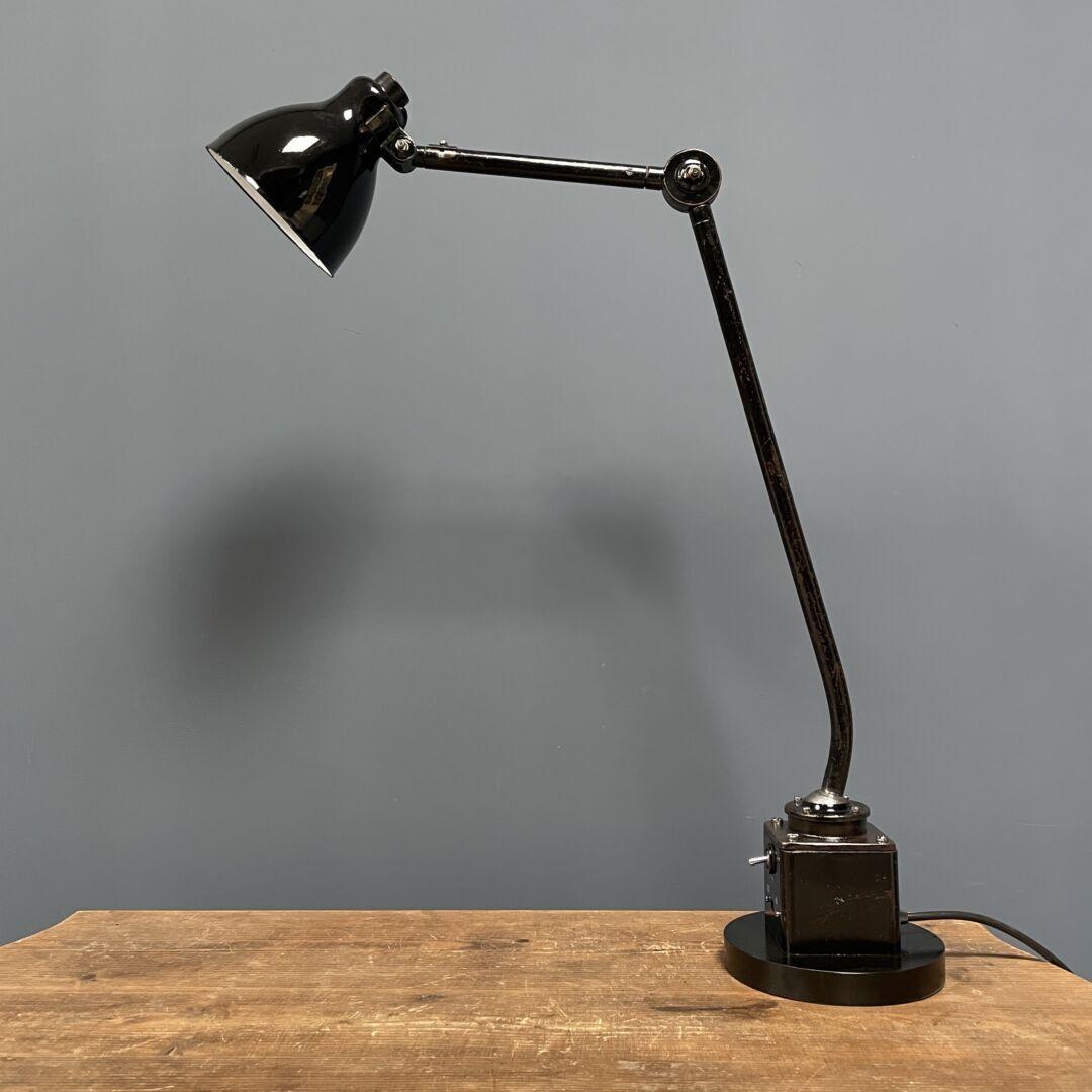 Zwarte Philips machinelamp