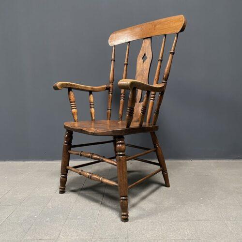 Antieke Engelse Windsor stoel