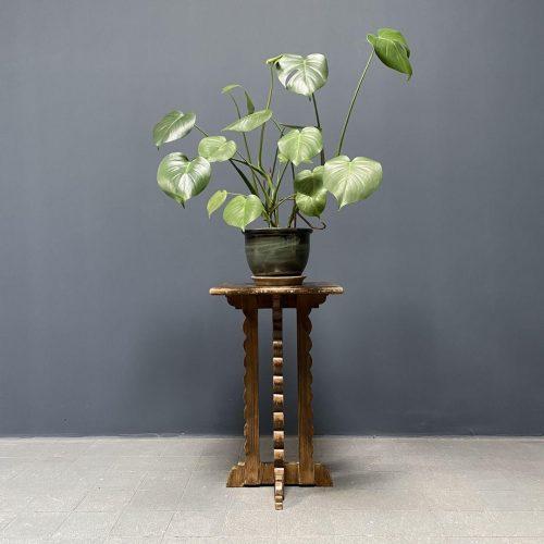 Sierlijk Faux bois plantentafel
