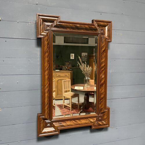 Grote Franse art deco spiegel