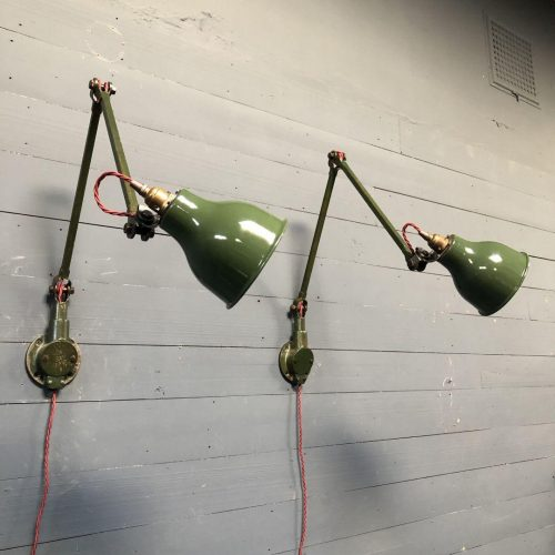 Engelse Mek Elek wandlampen