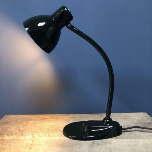 Donkergroene Kandem bureaulamp model 967