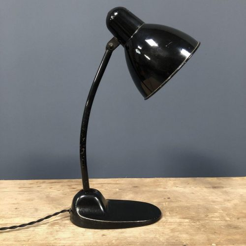 Zwarte Siemens bureaulamp model L299