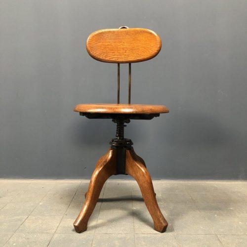 Antieke Amerikaanse bureaustoel