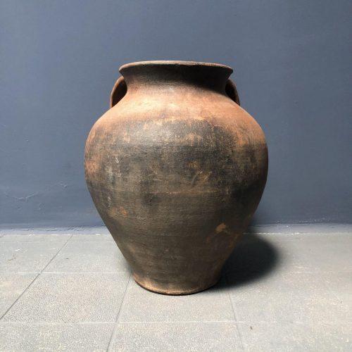 Antieke aardewerk pot
