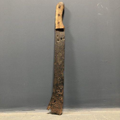 Oude geleefde machete