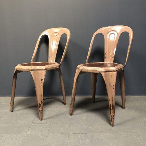 Set van twee Fibrocit stoelen