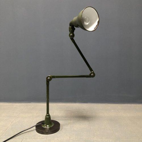 Groene Invisaflex machinelamp