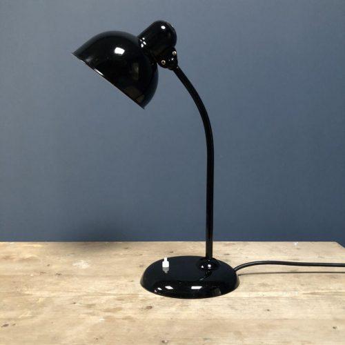 Zwarte Kaiser idell bureaulamp model 6551