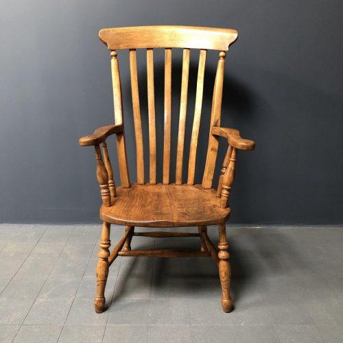 Engelse Windsor stoel met hoge rug