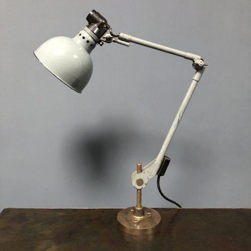 Grijze Rademacher werkplaats lamp