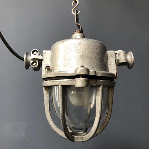 Industriële aluminium kooilamp