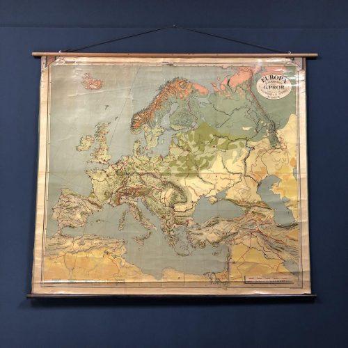 Grote Nederlandse landkaart van Europa