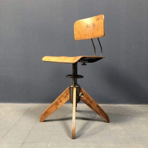 Industriële Rowac - Bemefa werkplaats stoel