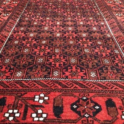 Schitterend dun geknoopt Perzisch kleed