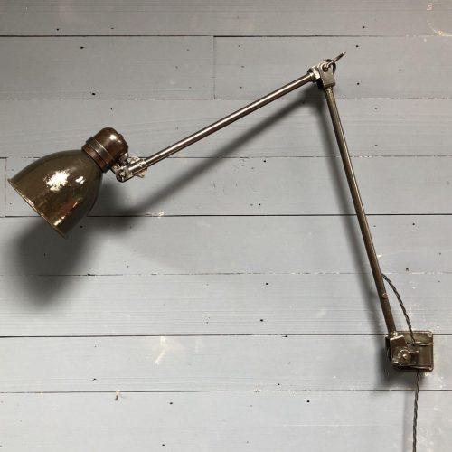 Zeldzame Fabrilux wandlamp