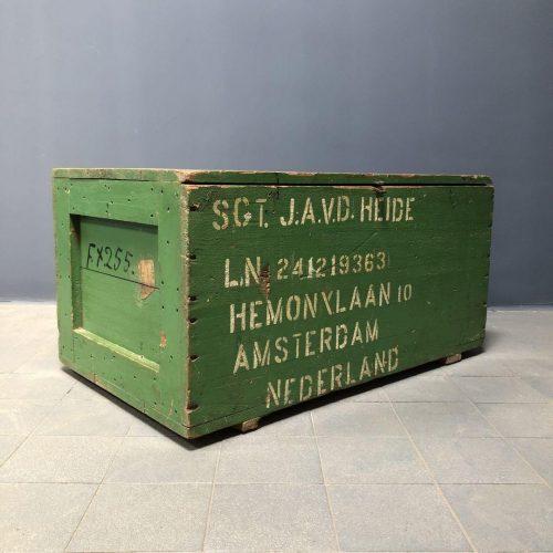 Groene Hollandse legerkist