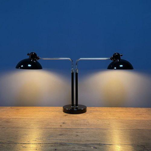 Zeldzame Kaiser idell bureaulamp model 6580 super