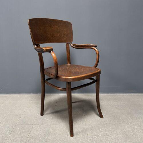 Prachtige antieke Thonet stoel